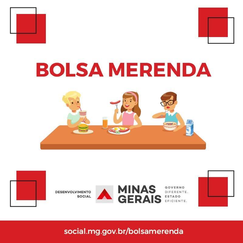 Governo de Minas amplia público e prazo do Bolsa Merenda