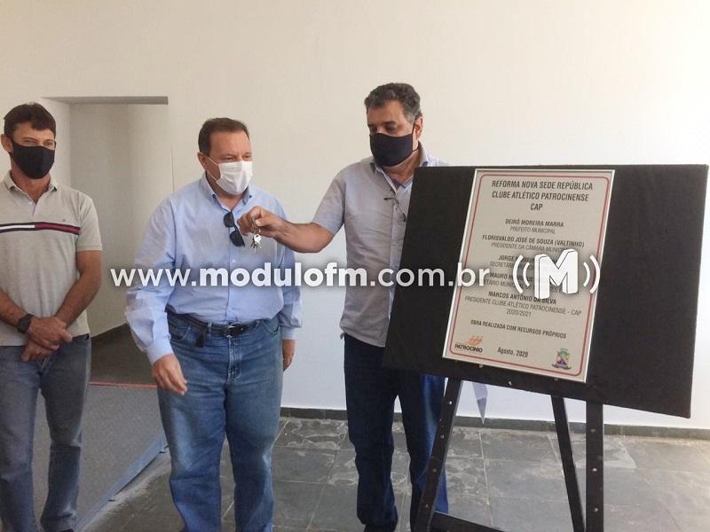Governo Municipal entrega obras da nova sede e república do CAP