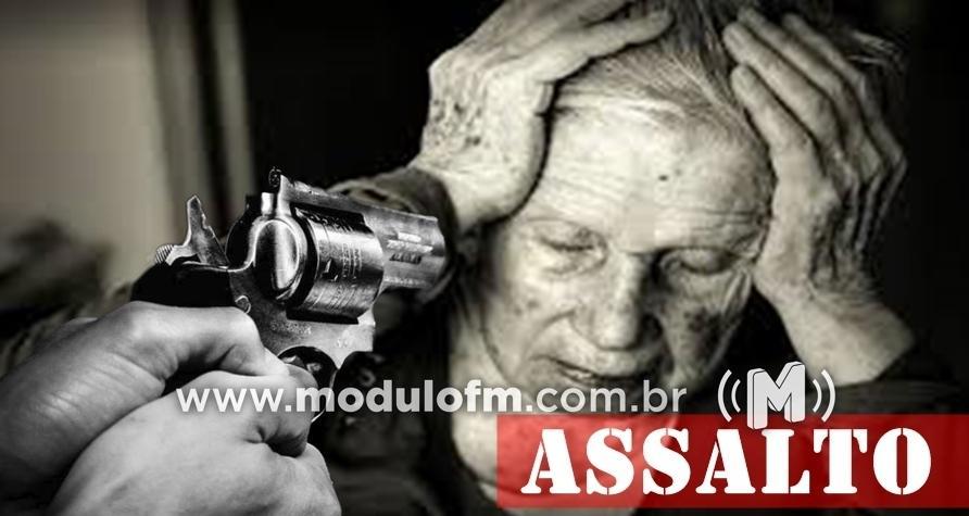 Idosa de 76 anos é agredida durante assalto em residência no bairro Santa Terezinha