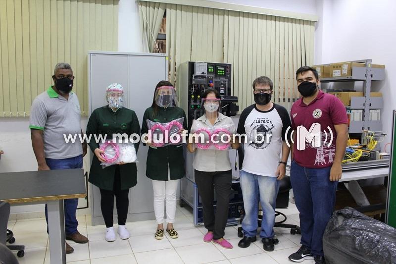 IFTM entrega máscaras de proteção para Casa do Idoso de Patrocínio