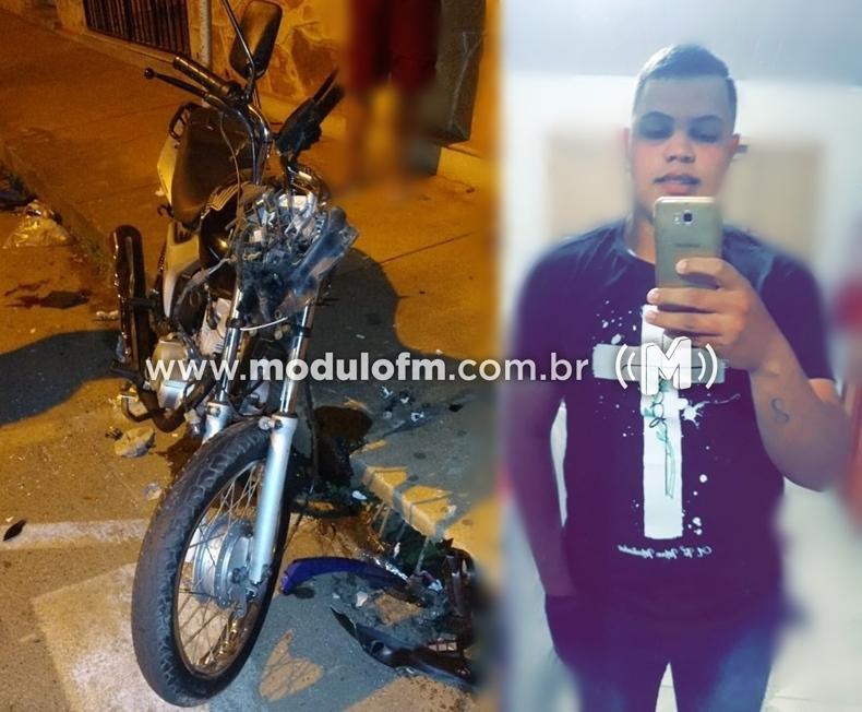 Jovem que sofreu acidente de moto não resiste e morre