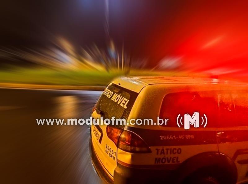 Mototaxista com mandado de prisão em aberto é preso por suspeita de tráfico de drogas