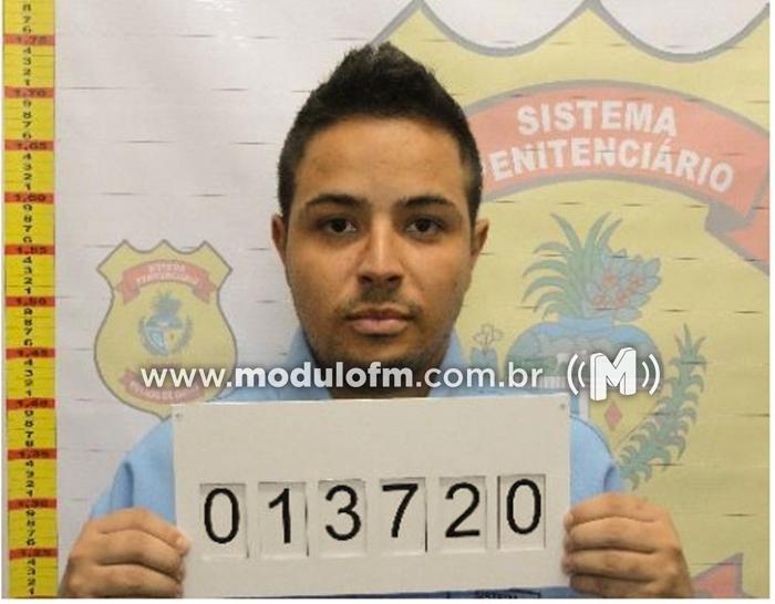 O maior ladrão de veículos de luxo do Estado de Goiás é...
