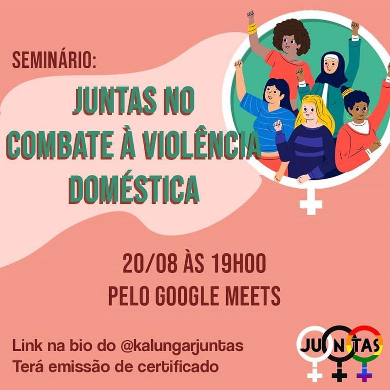 ONG Kalungar Juntas realiza seminário sobre combate à violência doméstica