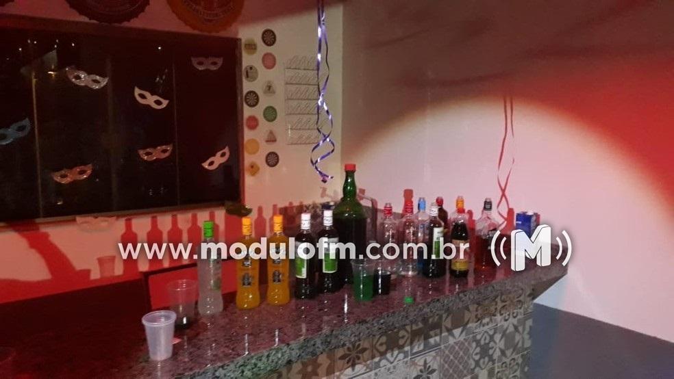 Responsáveis por festa em residência que oferecia bebida para menor de idade são presos