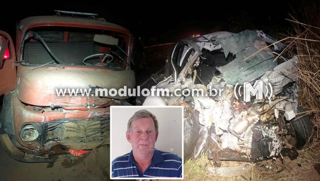 Caminhoneiro embriagado invade preferencial, colide em veículo e mata homem na MG-230