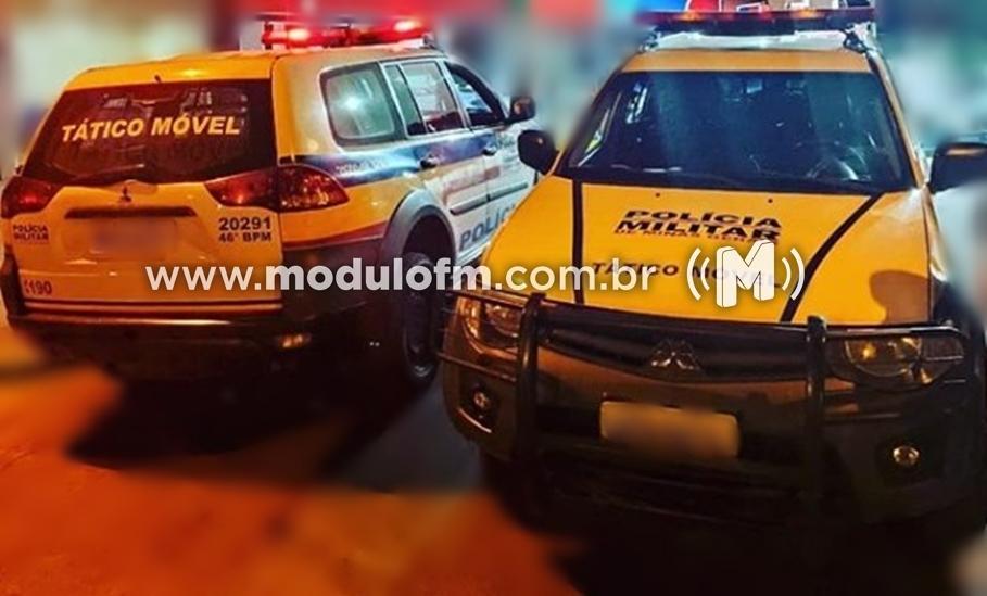 Homem é preso suspeito de traficar drogas em residência no bairro Cruzeiro da Serra