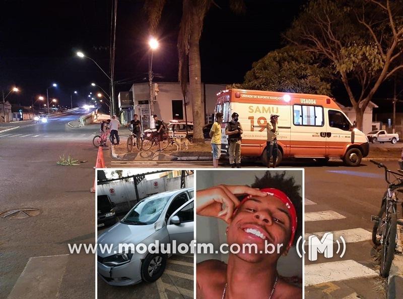 Jovem patrocinense não resiste e morre em hospital após grave acidente