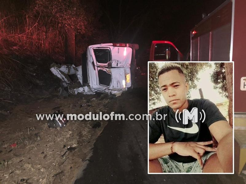 Morre único sobrevivente de tragédia com caminhão e van de Patrocínio na BR-365
