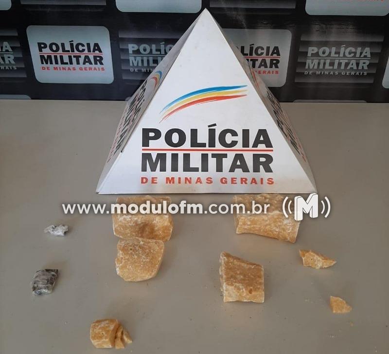 Polícia Militar apreende menor por suspeita de tráfico de drogas