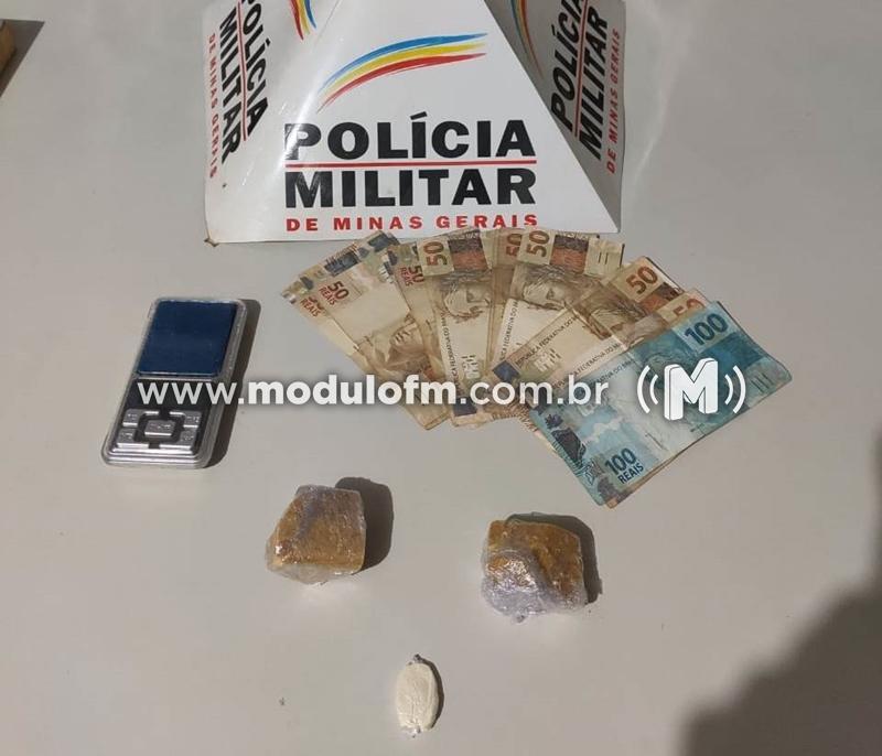 Homem é preso com drogas no bairro Morada Nova