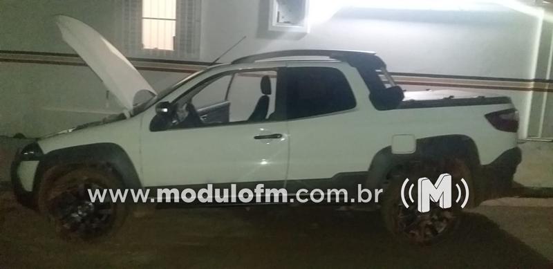 Homem é preso com veículo clonado em Douradoquara