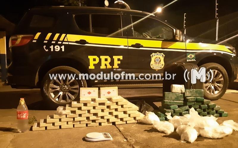 Ônibus de banda é apreendido com droga avaliada em R$ 7 milhões