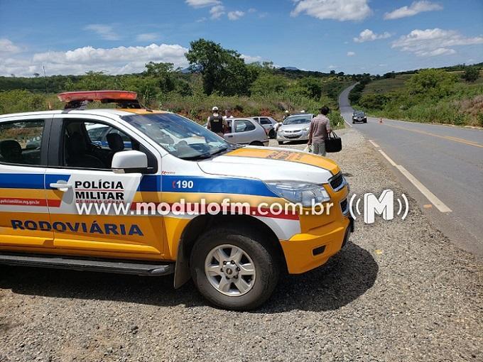 Polícia Militar alerta motoristas sobre perigo nas estradas em época de chuva