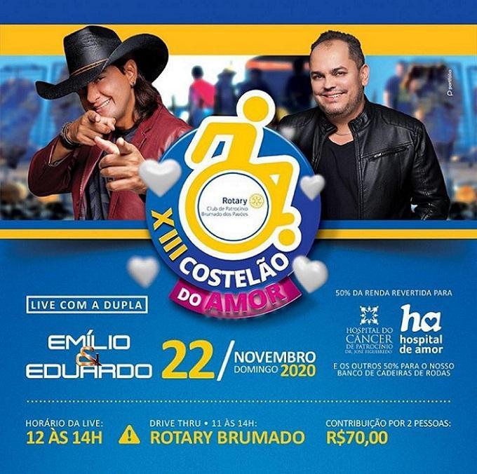 Rotary Club Brumado dos Pavões vende ingressos para o...