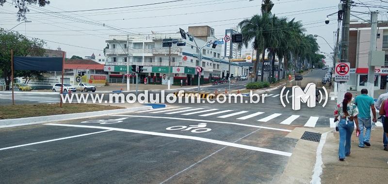 Trânsito será liberado no cruzamento das avenidas Faria Pereira...