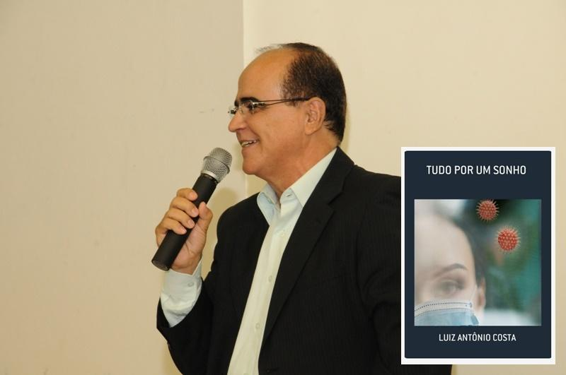 Escritor Luiz Antônio Costa lança novo livro