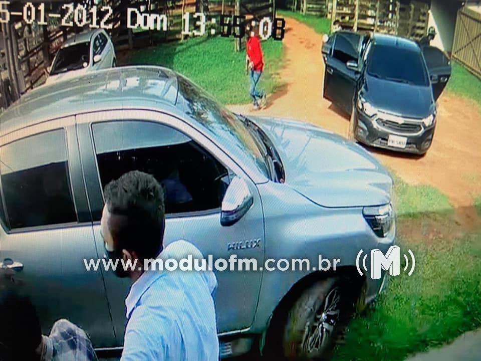 Polícia prende bandido que estava escondido após tentativa de assalto em Cascalho Rico