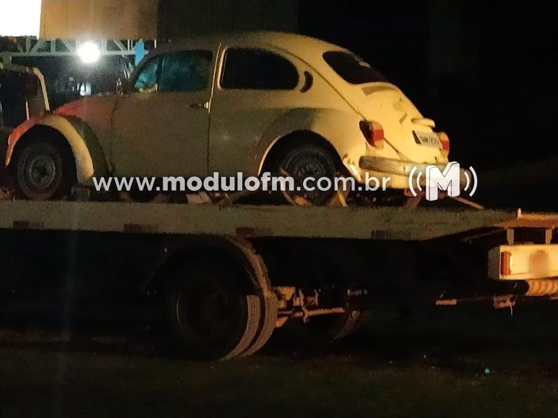 Veículo furtado é recuperado e receptador é preso na MG-230