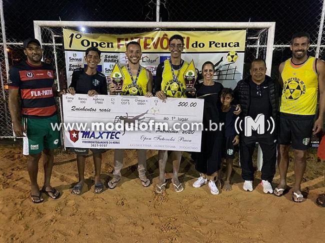 1º Open de Futevôlei do Peuca é realizado em Patrocínio