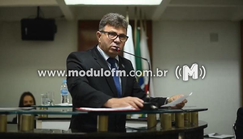 Florisvaldo José de Souza é eleito presidente da Câmara...