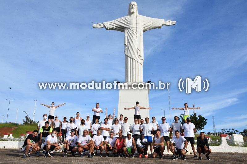 """Grupo """"Combatentes do Cerrado"""" promove corrida beneficente e arrecada..."""