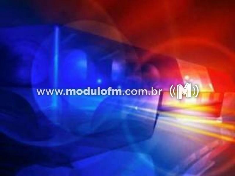 Polícia Militar prende um indivíduo por mandado de prisão