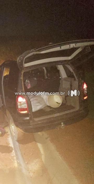 Polícia Militar recupera veículo furtado em Celso Bueno