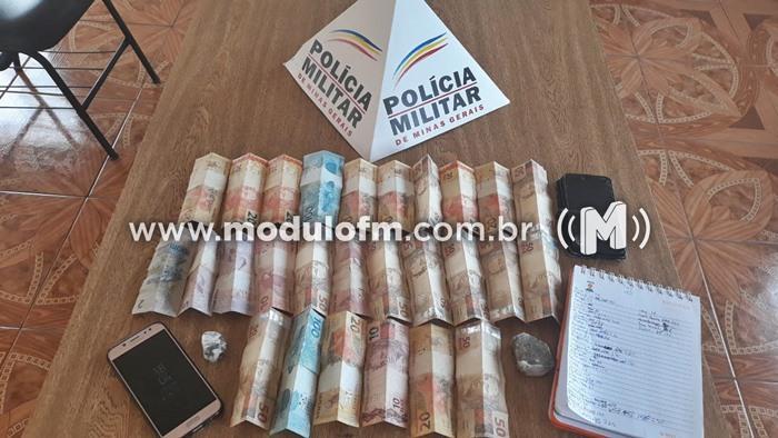 Dois homens são presos em Guimarânia por tráfico e consumo de drogas
