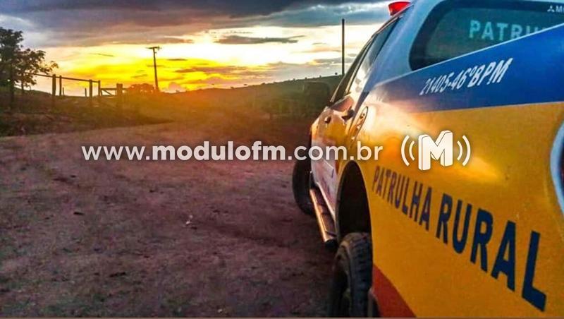 Dois homens são presos suspeitos de arrombar e furtar fazendas em Patrocínio