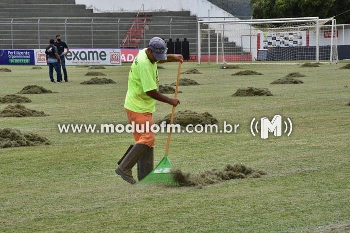 Estádio Pedro Alves está pronto para a estreia do...