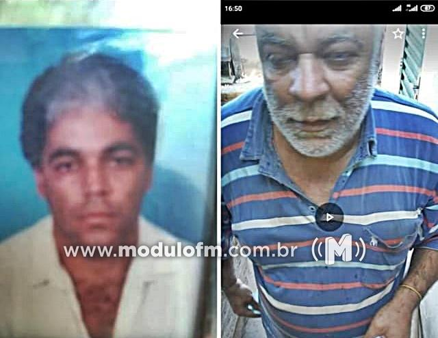 Família procura por Antônio Gonçalves desaparecido desde domingo(31/01)