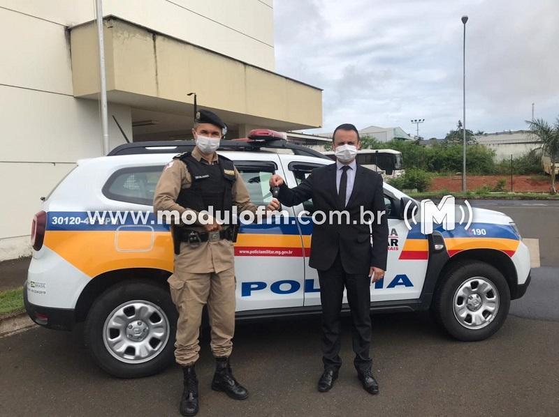 46º Batalhão da Polícia Militar recebe nova viatura