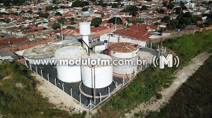 DAEPA instala novos reservatórios no bairro Matinha