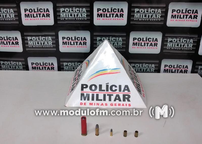 Homem é preso por posse ilegal de munições em Patrocínio