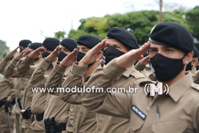 Minas Gerais vai vacinar policiais que atuam na linha...
