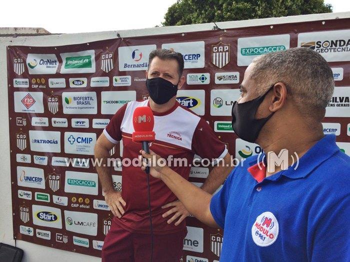 Rogério Henrique é apresentado no CAP