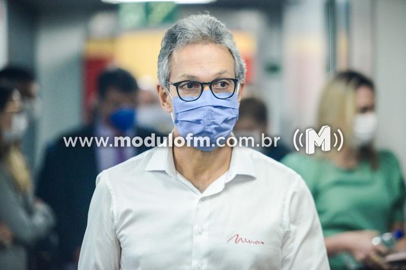 Romeu Zema anuncia medidas de apoio econômico e suspende...