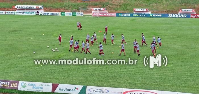 Thiago Oliveira promove mudanças no CAP durante coletivo desta...
