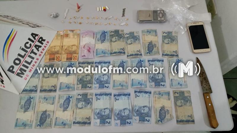 Três homens são presos suspeitos de tráfico de drogas