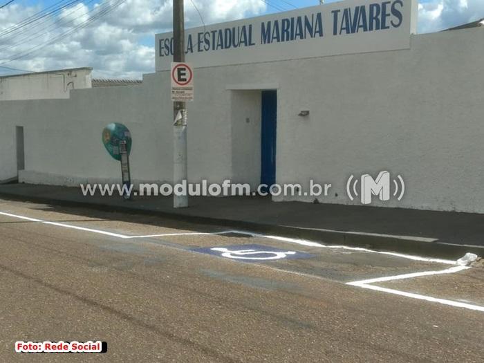 Escola Estadual Mariana Tavares, oferece vagas para professores