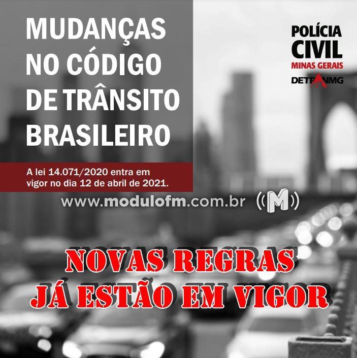 Novo Código de Trânsito Brasileiro entrou em vigor nesta segunda