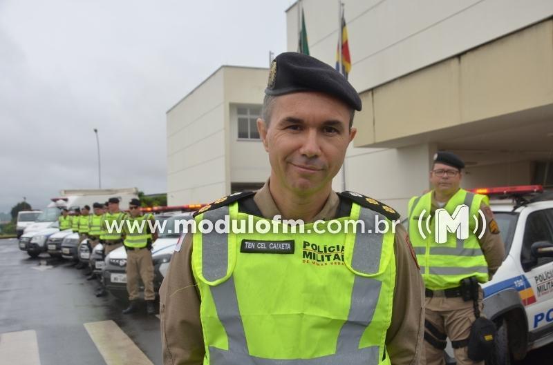 """Polícia Militar de Patrocínio inicia a operação """"Safra 2021""""."""