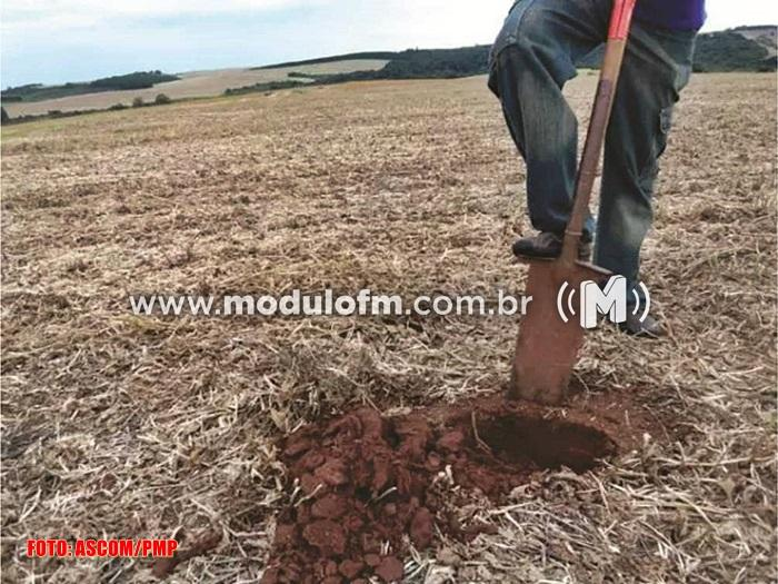 Produtores tem até sexta-feira para entrega das amostras de solo a Secretaria de Agricultura
