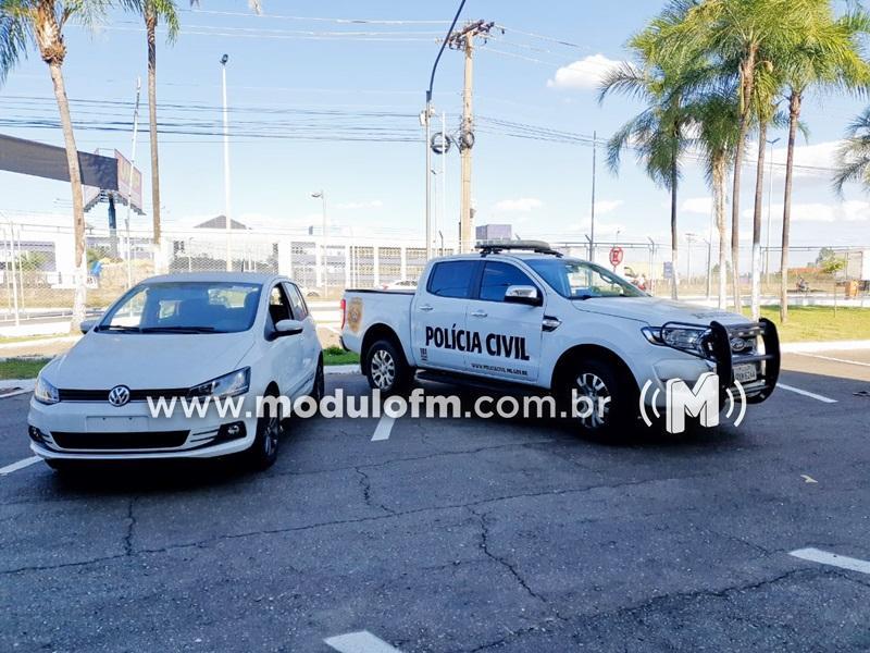 Veículo vendido em golpe de estelionato é recuperado pela Polícia Civil