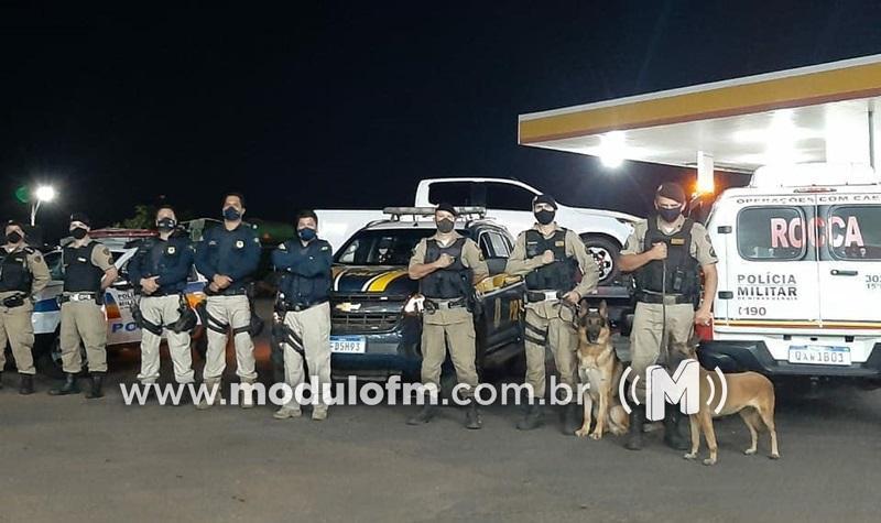 Ação conjunta entre PRF e PM recupera veículo roubado...