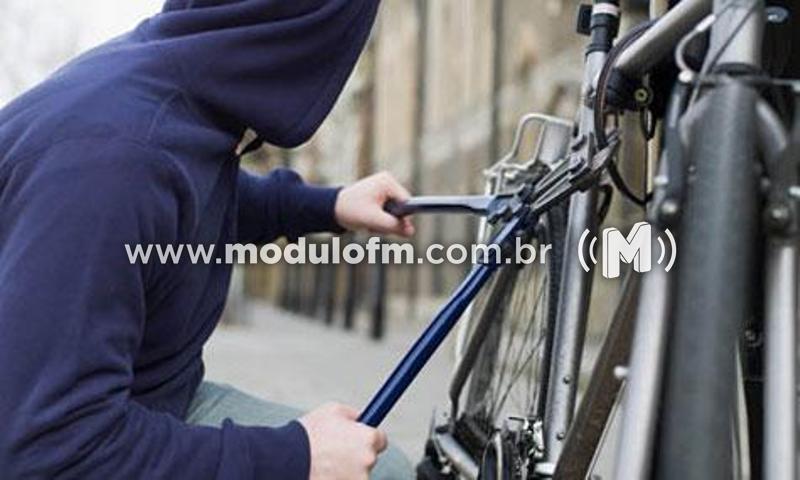 Bicicleta é furtada em Patrocínio