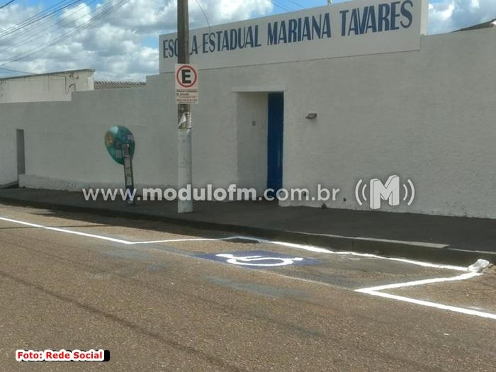 Escola Estadual Mariana Tavares oferece vaga para professor
