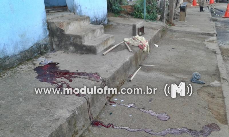 Homem é assassinado após bebedeira em Ibiá
