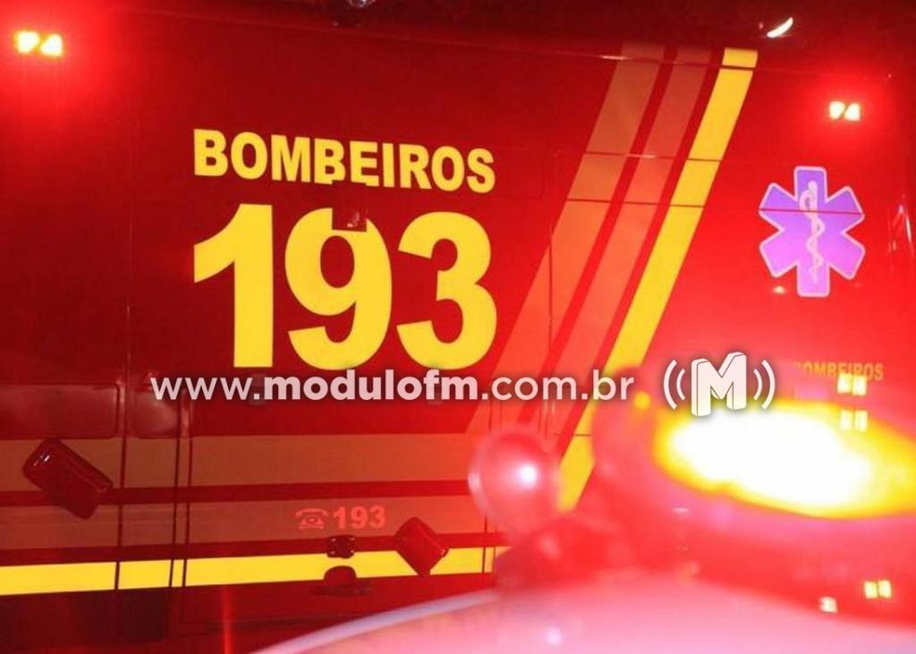 Motociclista fica ferido após cair de moto no bairro São Judas